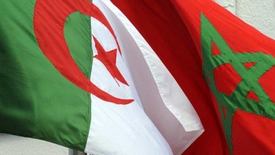 maroc algerie drapeaux