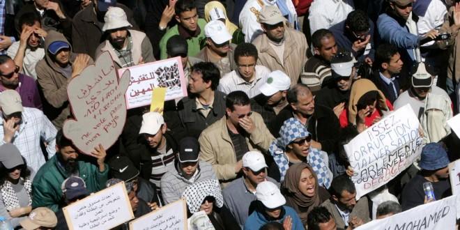 maroc marche politique