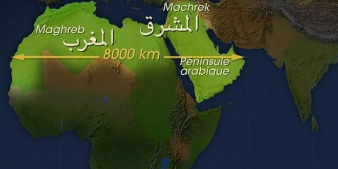 carte est ouest