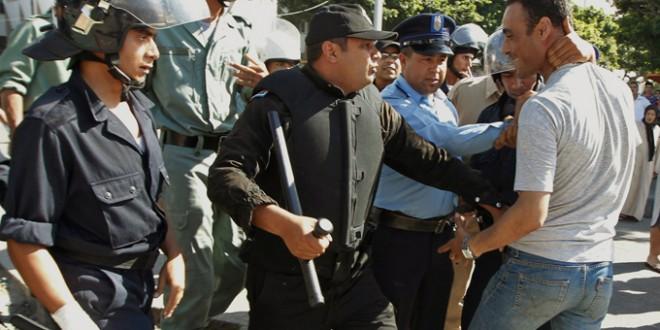 affrontement police