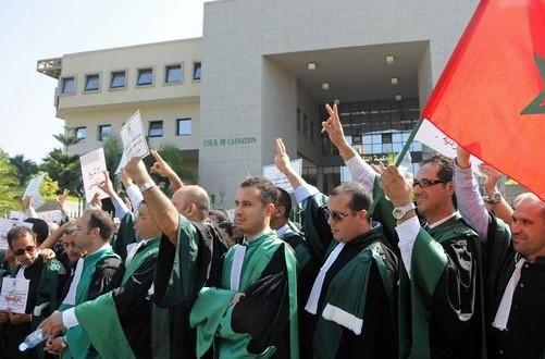 MOROCCO-JUSTICE-CORRUPTION-DEMO