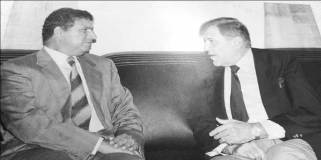 رمزي صوفيا في لقاء صحفي مع عبد اللطيف السملالي