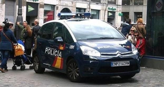 policia espagnol