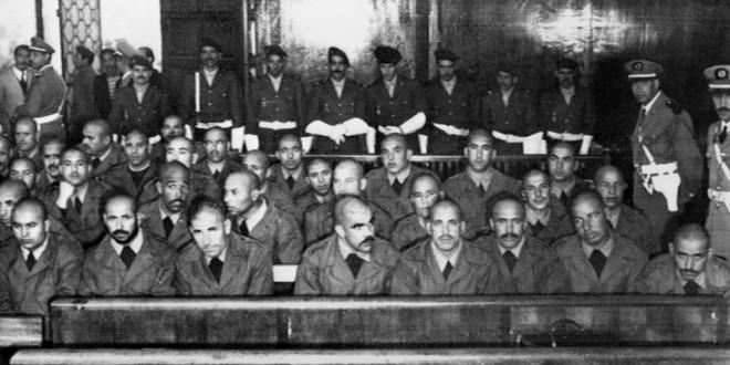 محاكمة المتورطين في انقلاب الصخيرات