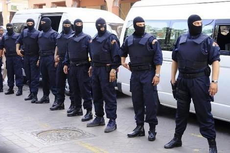 crime maroc police