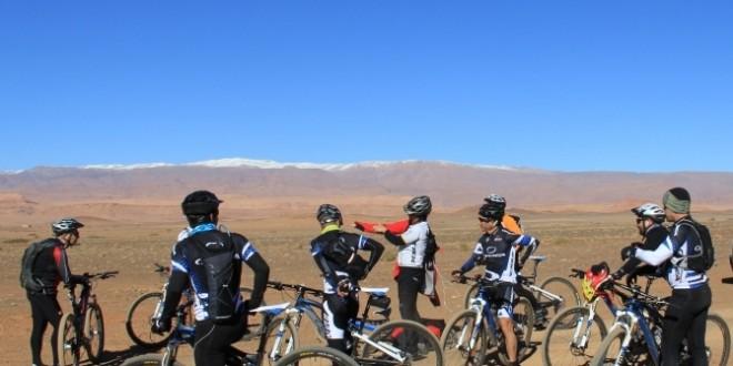 cyclistes maroc