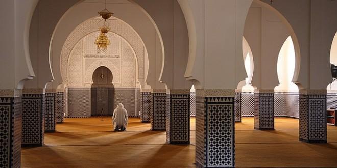 mosquee interieur maroc