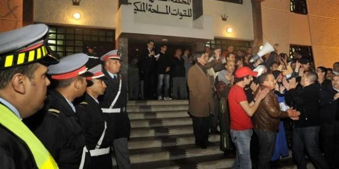 tribunal militaire maroc