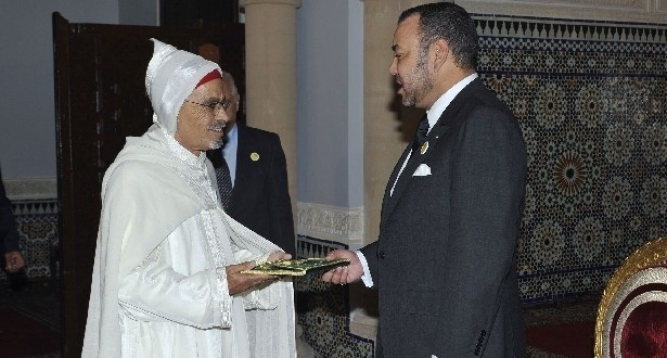 ambassadeur marocain avec roi