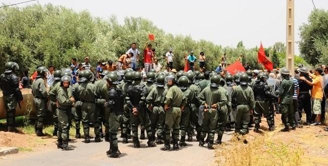forces auxiliaires marrakech