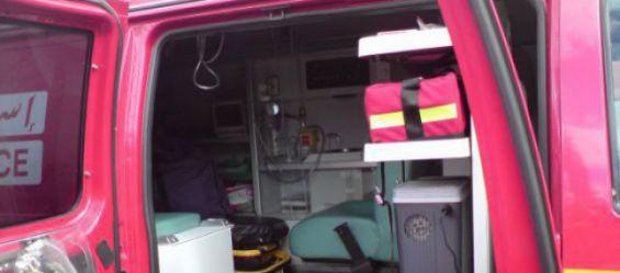 interieur ambulance