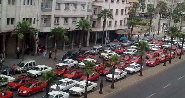 taxis rouges