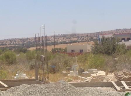 بداية أشغال البناء بمقبرة المسلمين