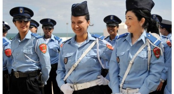 police femmes marrakech