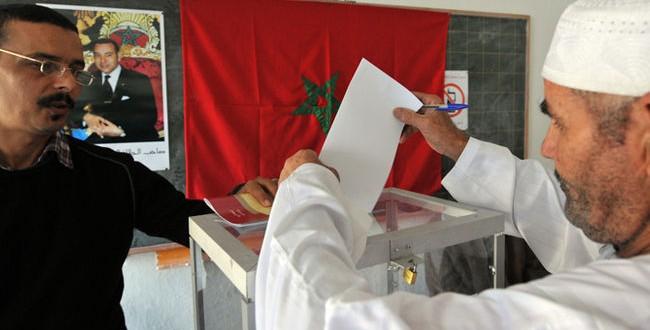 elections maroc 2