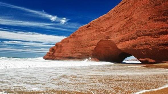 """الشاطئ المغربي """"الكزيرة """""""