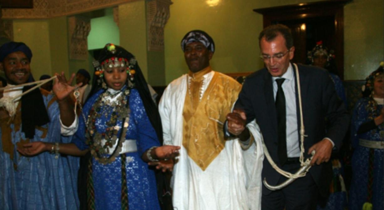 """Photo of """"رقصة الصبيحي"""" تفتتح المهرجان الوطني للفنون الشعبيّة بمرّاكش"""