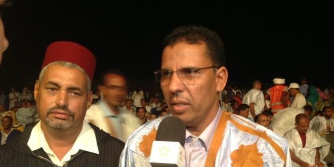 الصحراوي النتيجة المدرج بالجلابة المغربية التي أثارت حفيظة البوليساريو إلى جانب رئيس بلدية الوطية
