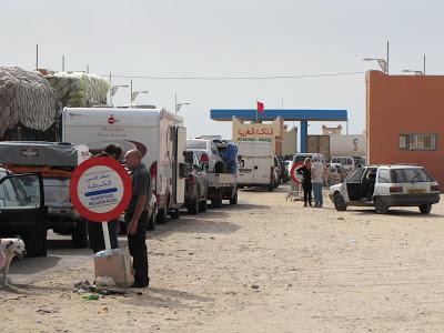 المنطقة العازلة بين المغرب و موريتانيا