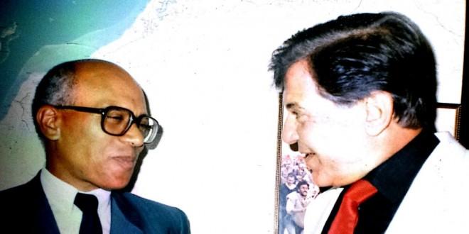 الصحفي رمزي صوفيا في حديث مع الطيب بن الشيخ