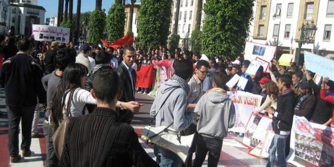universitaires en grève