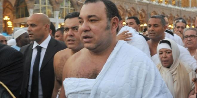 زليخة نصري تؤدي مناسك الحج مع الملك محمد السادس