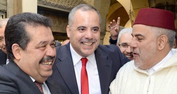 بنكيران وشباط في لقاء على هامش تدشين كنيس يهودي بفاس