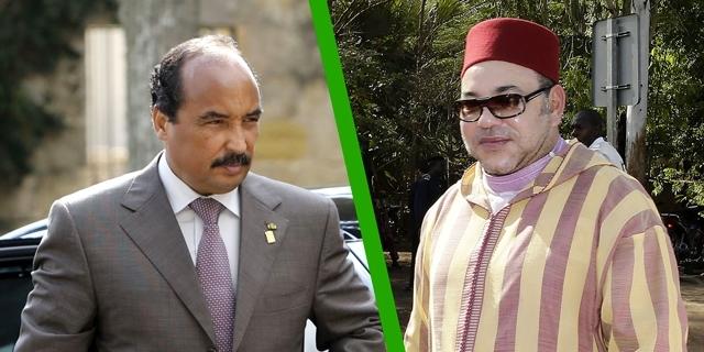 mohamed 6 et president mauritanie