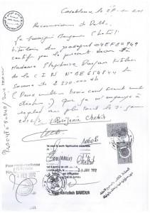 الفوطوكوبي التي تساوي 8 ملايير، لاحظوا المصادقة على الإمضاء في بلدية الدار البيضاء وبلدية فاس