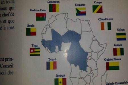 carte sahara sommet