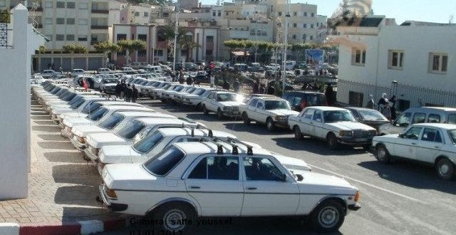 taxis blancs maroc