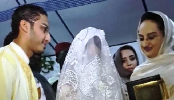 من مراسم زفاف نجلة الرئيس الموريطاني