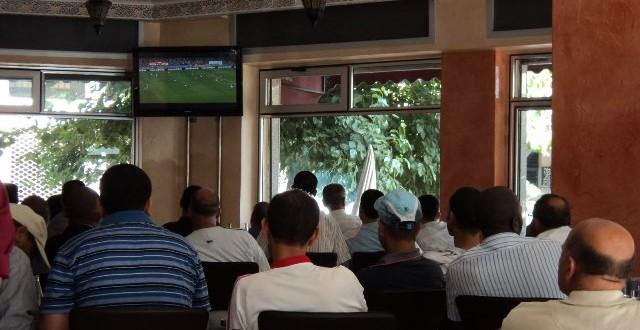Café Maroc foot