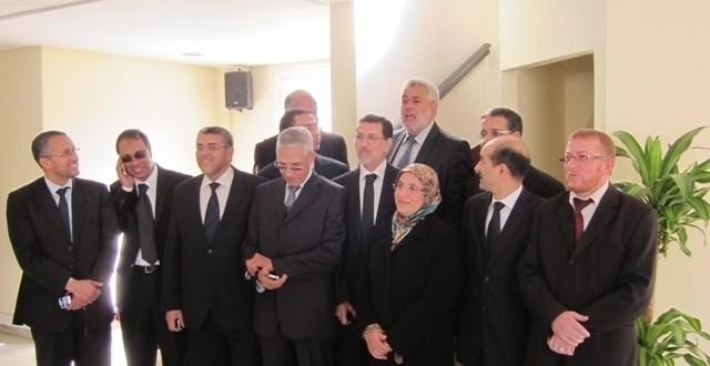 وزراء العدالة والتنمية