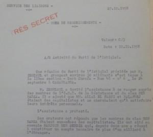 الوثيقة الفرنسية التي تتهم نقابيا كبيرا بتهريب مليار ستنيم إلى الخارج