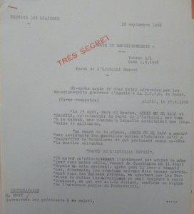 """""""حزب الاستقلال السوسي"""" كما أشارت إليه الوثيقة الفرنسية"""