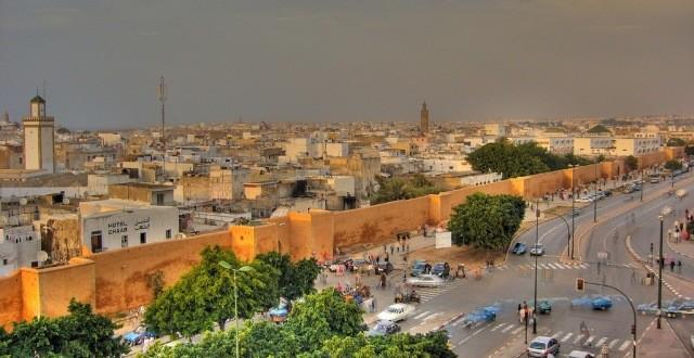 Rabat vue aerienne