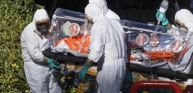 ebola evacuation victime