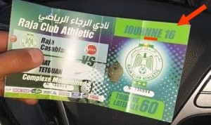 ticket raja tetouan 2