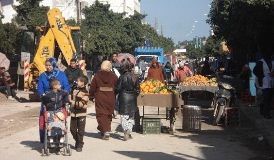 أحد شوارع مدينة أزمور