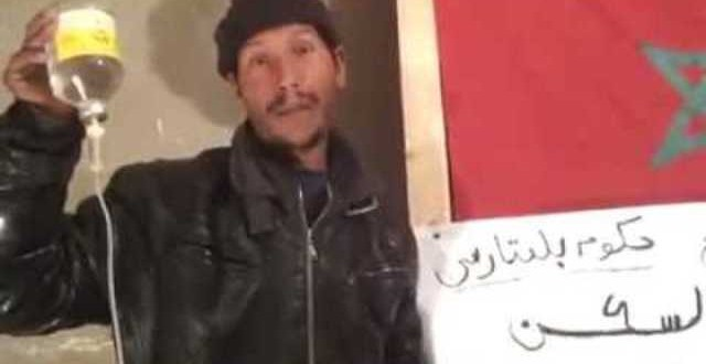 أحد المواطنين الظاهرين في مقطع الفيديو