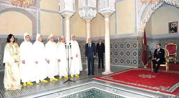 gouverneurs avec le roi