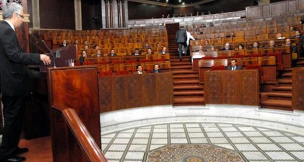 parlement maroc vide