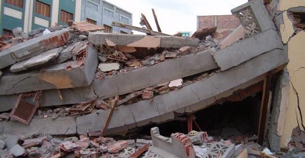 مخلفات زلزال الحسيمة