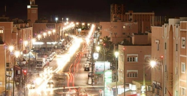 Laayoune by night