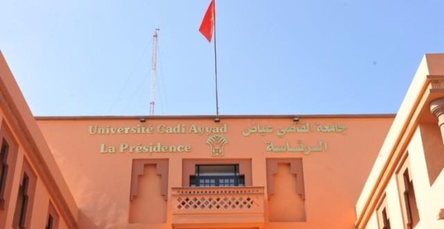 univ marrakech presidence
