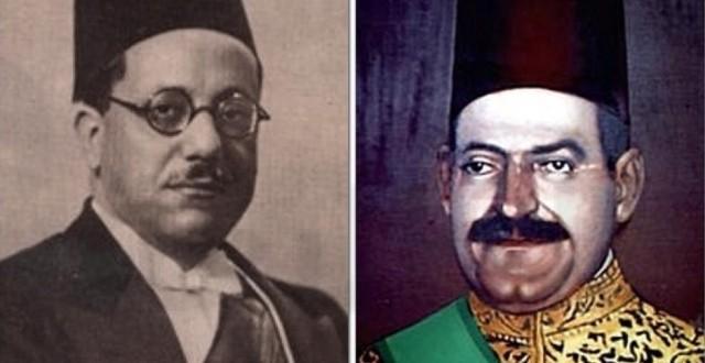 مصطفى النحاس، معارض الملك الذي أصبح رئيسا للحكومة فقال للملك: أنت صاحب التاجين
