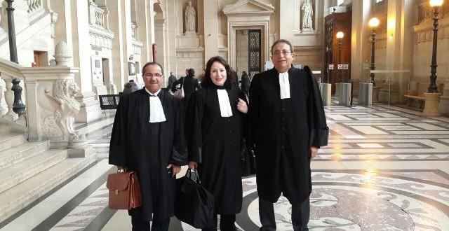 المحاميان الراشدي و طبيح ومحامية السفارة عائشة نصر