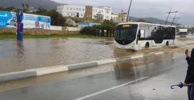 الفيضان الذي أتى على شوارع بعض مدن الشمال
