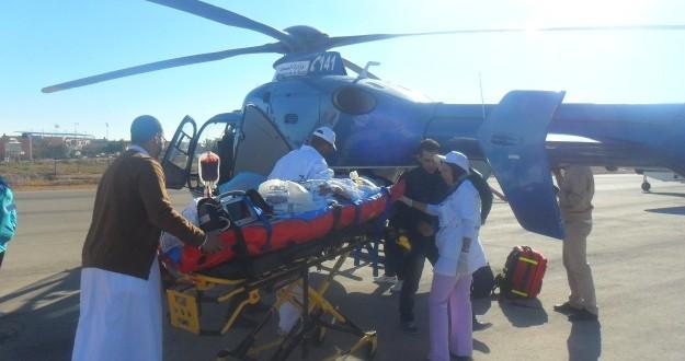 كواليس عملية إنقاذ الأم ومولودها